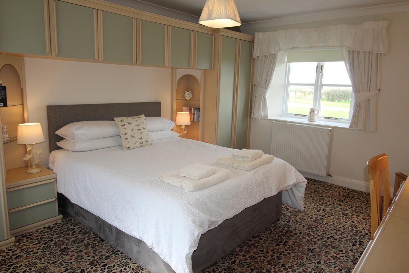 Rose Bedroom View | Burradon Farm